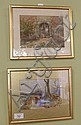 Two small framed Victorian watercolours