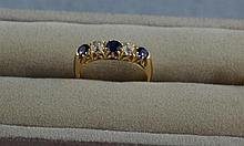 Antique Western Australian 18ct gold ring with