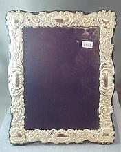 Sterling silver photo frame hallmarked Sheffield
