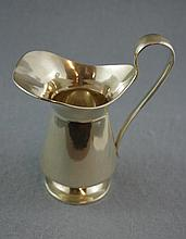 Edward VII sterling silver cream jug hallmarked