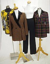 Three blazers including Escada blazer with leopard