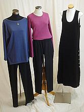 A group of Sonia Rykiel clothing including a dusty