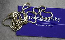 9ct long gold chain approx 11.8 grams