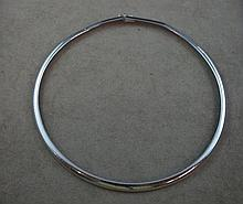 9ct white gold necklace approx 21 grams
