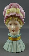 Antique Royal Worcester candle snuffer Old Maid