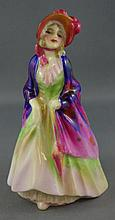 Royal Doulton miniature figure Paisley Shawl