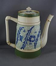Art Nouveau James Macintyre & Co coffee pot with
