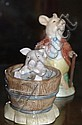 Beswick Beatrix Potter Yock-Yock in tub with Pig