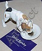 Royal Doulton Character dog with plate