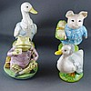 Four various Beatrix Potter figurines Royal Albert