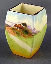 Royal Doulton miniature vase 6cm high