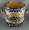 Doulton Lambeth Hannah Barlow jardiniere decorated