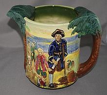 Royal Doulton Long John Silver loving cup limited