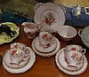 Tuscan part tea set comprising of cake plate, milk