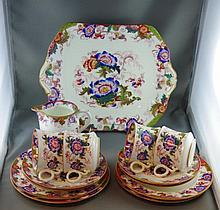 Antique Cauldron China part teaset comprising of