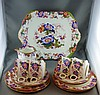 Antique Cauldron China part teaset comprising of