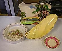 Royal Doulton sandwich plate, plate & dish
