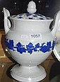 19th Century large Wedgwood stoneware pot pouri