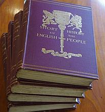 4 Vols. Short History Of The English People
