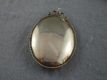 VKS Sterling silver locket