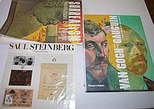 Three Art books including Van Gogh