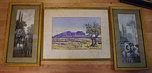 Three vintage prints Albert Namatjira