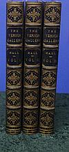 3 Vols. The Vernon Gallery Of British Art Green