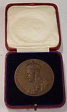 1925 British Empire Exhibition Medal in original