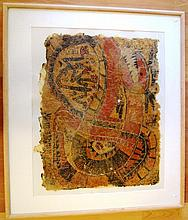 Artist unknown, Aboriginal painting paper, ( hand
