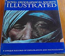 Royal Geographic Society Illustrated Signed Signed