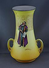 Royal Doulton 'Shylock' vase 22cm high