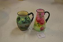 Two Royal Doulton miniature jugs Roses &