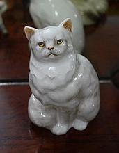 Beautiful Royal Doulton Persian Cat seated, style