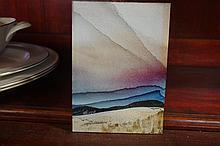 Martin Lemieux (1954-) Quebec painting Acrylic on