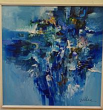 Leonardo Zablan (Phillipines) untitled Oil on