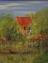 Colleen Parker (1944-2008) Artists Cottage Sofala