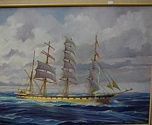 Robert Carter OAM Hougomont Oil on board. Signed