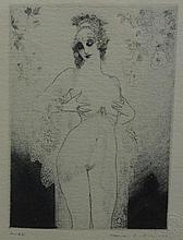 Norman Lindsay ( 1879-1969) Julia Facsimilie