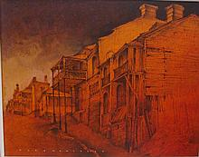 Alex Macmillan (1910-1987) Cameron Street Balmain