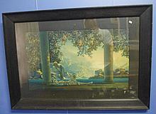 Max Field Parrish framed print