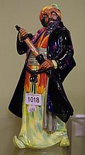Royal Doulton 'Blue beard' figurine HN2105, 26.5cm