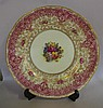 Royal Worcester hand painted cabinet plate signed