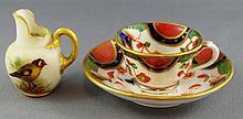 Royal Worcester miniature jug circa 1926, 3.5cm
