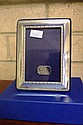 English sterling silver frame 12cm x 9cm approx