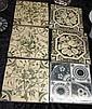 Six Victorian tiles