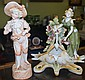 Two antique German porcelain figures