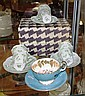 Five Shelley Cup & saucer sets extra cup, Aynsley