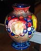 Good Moorcroft flambe vase