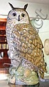 Large Royal Copenhagen figure of owl -height 35cm