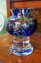 Swedish art glass vase designed by Bjorn Ramel,
